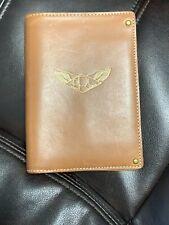 NEW Ralph Lauren RRL Leather Passport Case Bifold Wallet