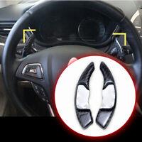 For Lincoln MKZ MKC MKX MKS MKT Carbon Fiber Steering Wheel Shifter Paddle Shift