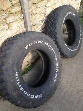 2x BF Goodrich Mud-Terain 265/75/16 Tyres