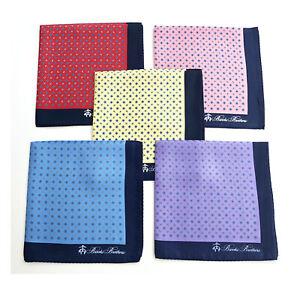 100% PURE SILK Men Suit Pocket Square Scarf Polka Dot Hanky Floral Handkerchief