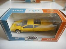 AHC Vauxhall SRV in Yellow on 1:43 in Box