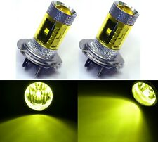 LED 30W H7 Yellow 3000K Two Bulbs Head Light High Beam Replacement Show Use Lamp