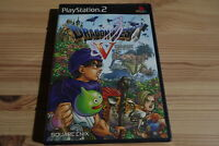 PS2 Playstation Dragon Quest V Hand of the Heavenly Bride DQ VIII SQUAREENIX