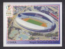 PANINI-COREA GIAPPONE 2002 WORLD CUP - # 21 OSAKA-Stadio di NAGAI