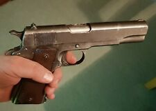 Lifesize 1:1 scale movie prop COLT 45 1911 resin painted weathered militaria ww2
