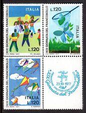 Italy - 1977 Stamp Day - Mi. 1586-88 MNH