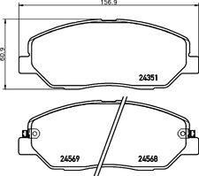 Mintex Front Brake Pad Set MDB2777  - BRAND NEW - GENUINE - 5 YEAR WARRANTY