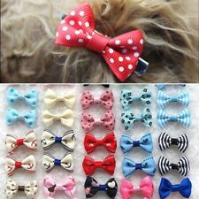 More details for 21pcs pet dog cat hair bows clips puppy grooming headdress bowknot accessories