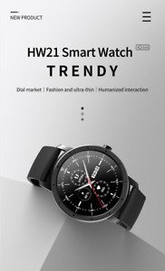 2021 Smart Watch Round HW21 1.32 inch Message Reminder Strong Battery Life