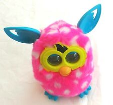 2012 Furby Boom Pink White Polka Dot Interactive Toy