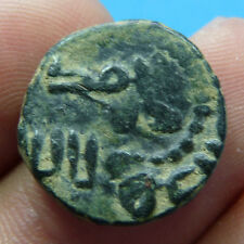 Coin Medieval Arabic Found Muslim Conquest Of Spain Time Ancient Bronze Islamic