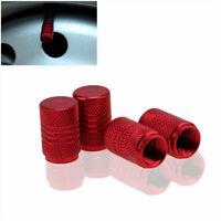 5Pcs/Lot Red Car Wheel Tire Valve Caps Tyre Stem Air Caps