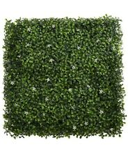 """Butterfly Craze Artificial Boxwood Topiary Hedge Plant (20""""x20"""")"""