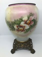 Antique Gone with the Wind GWTW Oil Lamp Base 5 Inch Drop In Font