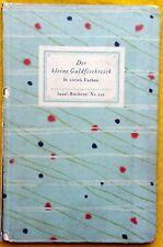 Insel-Buecherei #255 Der Kleine Goldfishchteich vielen Farben Used Hardback 1935