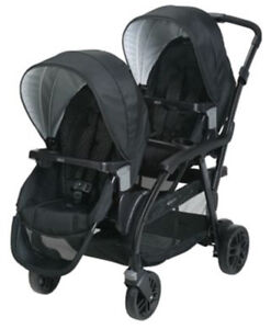 Graco Baby Modes Duo One-Hand Fold Twin Tandem Double Stroller Balancing Act NEW