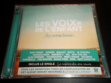 LES VOIX DE L'ENFANT : POKORA, PERY, SHY'M, TAL ~ 2 x CD ALBUM NEUF