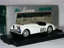 Brumm S007 Jaguar XK120 Winner 1953 Alpine Rally #603 LTD ED 1/43