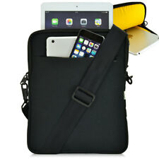"Samsung Galaxy Tab S 10.5"" Heavy Duty Sleeve Bag with Strap, Black and Yellow"