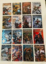 LOT OF 16 LADY DEATH MEDIEVAL #1-8  + WRAP VARIANTS COMPLETE SET AVATAR  2005 NM