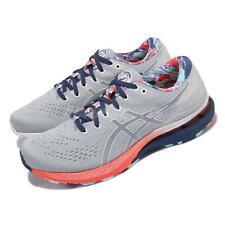 Asics Gel-Kayano 28 celebración del deporte Gris Azul Hombres Zapato de correr 1011B310-960
