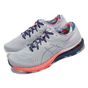 Asics GEL-Kayano 28 Celebration Of Sport Grey Blue Men Running Shoe 1011B310-960