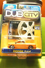Muscle Machines Dub City  04 2004 Dodge Ram Truck, 6 Star Silver Rims C More