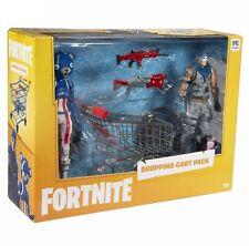 Fortnite Shopping Cart Pack fuegos artificiales jefe de equipo & Warpaint Figuras de Acción, NUEVO