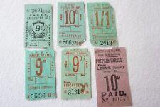 More details for lner railway newspaper parcel letter stamp x6 ref 3
