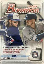 2020 Bowman Baseball Blaster Box RETAIL ONLY Autos Jasson Dominguez Bichette Lux
