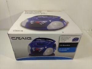 Craig CD Boombox With AM/FM Stereo Radio CD6917B hd3026