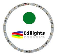 MODULO A CERCHIO 21 LED SMD 5050 RING 140MM/124MM 12V LUCE VERDE GREEN