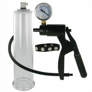 Size Matters Premium Penis Pumping Kit Advanced Male Vacuum Pump Enlarger System