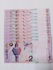 10 Pcs DT 7825331-40 RM2 Ali Abul Hassan CENTRE-SIGN UNC Malaysia