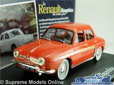 RENAULT DAUPHINE MODEL CAR 1:43 SCALE IXO ATLAS RED SALOON FRENCH K8