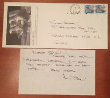 ALAN BEAN SIGNED Note Envelope Astronaut Autograph NASA Apollo 12 Skylab 2