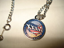 New England Patriots Super Bowl Necklace