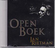 Jan Rietman-Open Boek Promo cd album