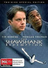 SHAWSHANK REDEMPTION - BRAND NEW SEALED 2-DISC DVD (TIM ROBBINS, MORGAN FREEMAN)