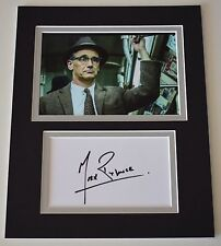Mark Rylance Signed Autograph 10x8 photo display Bridge of Spies Film AFTAL COA