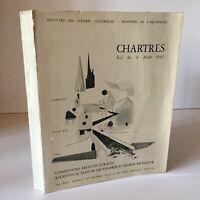 Guy Nicot Chartres Bedingungen Architektonische Plan Backup Fa 1962 Psmv