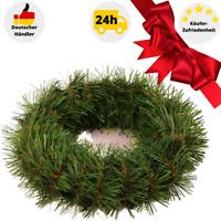 Tannenkranz Türkranz Weihnachtskranz künstlicher Deko Kranz Adventskranz grün