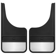 "Husky Liners 55001 Rubber Front Mud Flaps 12"" For 2008-2018 Buick Enclave"