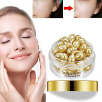 30Pcs/Bottle Anti-aging  Hyaluronic Acid Capsules Vitamin E Serum Acne Removing