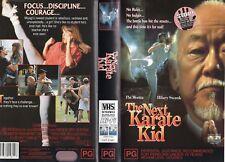 THE NEXT KARATE KID - Morita - VHS -PAL -NEW -Never played! -Original Oz release