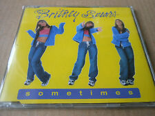 BRITNEY SPEARS  CD single  SOMETIMES with case and protective polythene cover