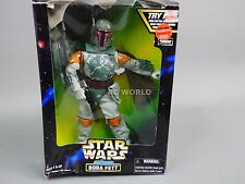 "Vintage Star Wars ELECTRONIC BOBA FETT Bounty Hunter  12""  Figures  #rk2"
