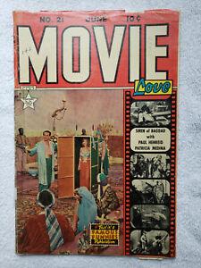 Movie Love #21 (Jun. 1953, Famous Funnies) [GD/VG 3.0] Siren of Bagdad