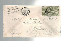 1947 Tananrive Madagascar Airmail Cover to France