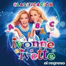 Las Gemelas IVONNE E IVETTE El Regreso rare CD Clasificacion ABC musica infantil